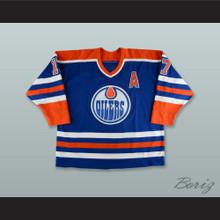 Jari Kurri 17 Edmonton Oilers Blue Hockey Jersey