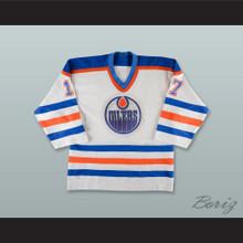 Jari Kurri 17 Edmonton Oilers White Hockey Jersey