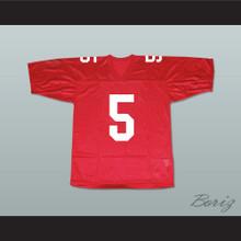 Finn Hudson 5 William Mckinley High School Football Jersey New