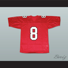 Tina Cohen-Chang 8 William Mckinley High School Football Jersey