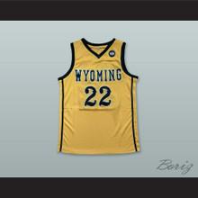 Larry Nance Jr. 22 Wyoming Cowboys Basketball Jersey