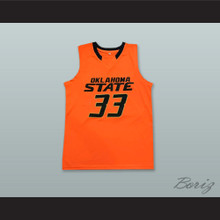 Marcus Smart 33 Oklahoma State Cowboys Orange Basketball Jersey