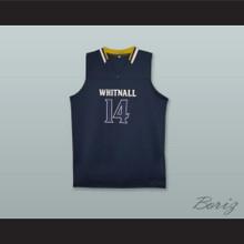 Tyler Herro 14 Whitnall High School Falcons Navy Blue Basketball Jersey