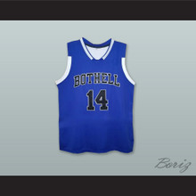 Zach LaVine 14 Bothell High School Cougars Blue Basketball Jersey