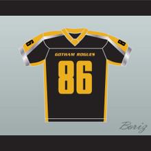 Gotham Rogues Hines Ward 86 Black Football Jersey