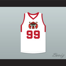 Tacko Fall 99 Maine White Basketball Jersey 2