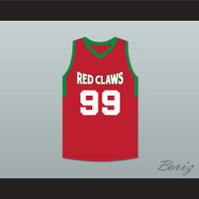 Tacko Fall 99 Maine Red Basketball Jersey 1