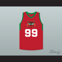 Tacko Fall 99 Maine Red Basketball Jersey 2