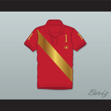 Prince Akeem Joffer 1 Red Polo Shirt Coming to America