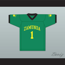 Prince Akeem Joffer 1 Fictional African Country Green Football Jersey