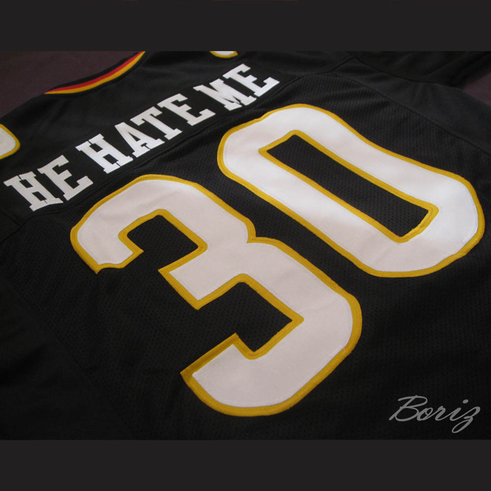 b54da820202 Rod Smart He Hate Me Las Vegas Outlaws Football Jersey. Price   55.99.  Image 1. Larger   More Photos