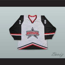 Vorobev 20 Armata Moscow White Hockey Jersey