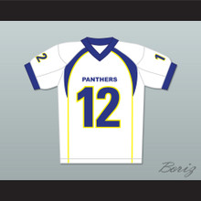 J.D. McCoy 12 Dillon Panthers Football Jersey Friday Night Lights White