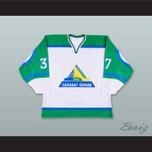 Konstantin Gorovikov 37 Salavat Yulaev Ufa White Hockey Jersey