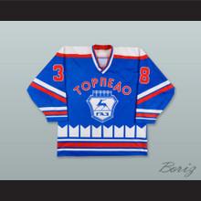 Maxim Ovchinnikov 38 Torpedo Nizhni Novgorod Blue Hockey Jersey