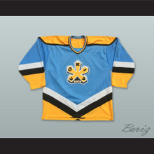 Russian Cokiv Knib Light Blue Hockey Jersey