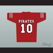 J.J. Watt 10 Pewaukee Pirates High School Football Jersey Stitch Sewn