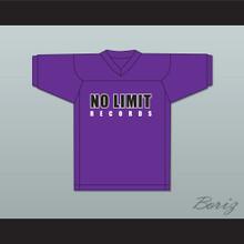 Master P 96 Ice Cream Man No Limit Records Purple Football Jersey