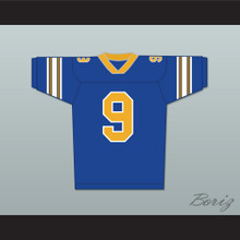 Anthony Michael Hall Johnny Walker 9 Football Jersey Johnny Be Good Stitch Sewn