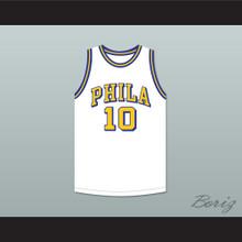Joe Fulks 'Jumping Joe' 10 Philadelphia Warriors White Basketball Jersey 1