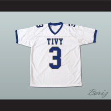 Johnny Manziel 3 TIVY High School Football Jersey White