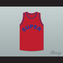 Missy Elliott 1 Super Red Basketball Jersey