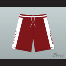 Kobe Bryant Lower Merion High School Aces Maroon Basketball Shorts