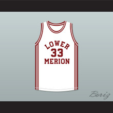 Kobe Bryant 33 Lower Merion High School Aces White Basketball Jersey 2