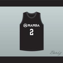 Gianna 2 Mamba Ballers Black Basketball Jersey