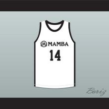 Payton 14 Mamba Ballers White Basketball Jersey