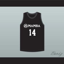 Payton 14 Mamba Ballers Black Basketball Jersey