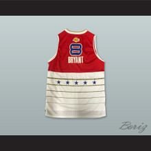 K. Bryant 8 2006 All Star Red/White Basketball Jersey