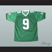 Lebron James 9 Fighting Irish High School Football Jersey Green