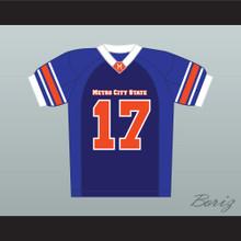 Channing Tatum Brad McQuaid 17 Metro City State Statesmen Football Jersey
