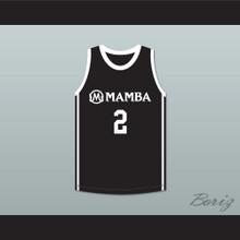 Gigi 2 Mamba Ballers Black Basketball Jersey Version 2