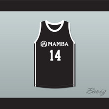 Payton 14 Mamba Ballers Black Basketball Jersey Version 2