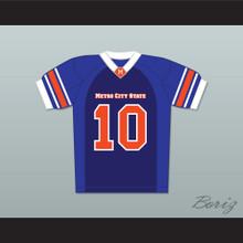 Wyatt Russell Zook Haythe 10 Metro City State Statesmen Football Jersey