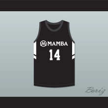 Payton 14 Mamba Ballers Black Basketball Jersey Version 3