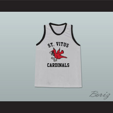 Jim Carroll St Vitus Cardinals Grey Basketball Jersey from The Basketball Diaries