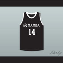 Payton 14 Mamba Ballers Black Basketball Jersey Version 4