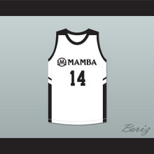 Payton 14 Mamba Ballers White Basketball Jersey Version 2
