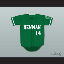 Player 14 Isidore Newman High School Green Baseball Jersey