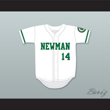 Player 14 Isidore Newman High School White Baseball Jersey