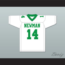 Player 14 Isidore Newman High School White Football Jersey Version 1