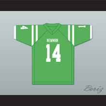 Player 14 Isidore Newman High School Light Green Football Jersey Version 2
