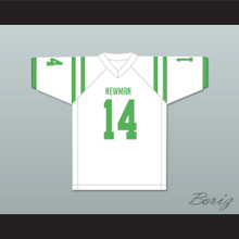 Player 14 Isidore Newman High School White Football Jersey Version 2