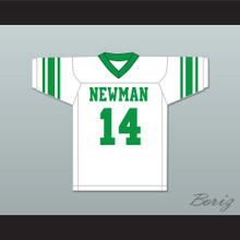 Player 14 Isidore Newman High School White Football Jersey Version 3