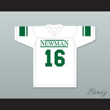 Arch Manning 16 Isidore Newman High School White Football Jersey Version 4