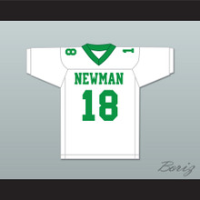 Peyton Manning 18 Isidore Newman High School White Football Jersey Version 1