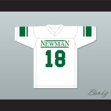 Peyton Manning 18 Isidore Newman High School White Football Jersey Version 4